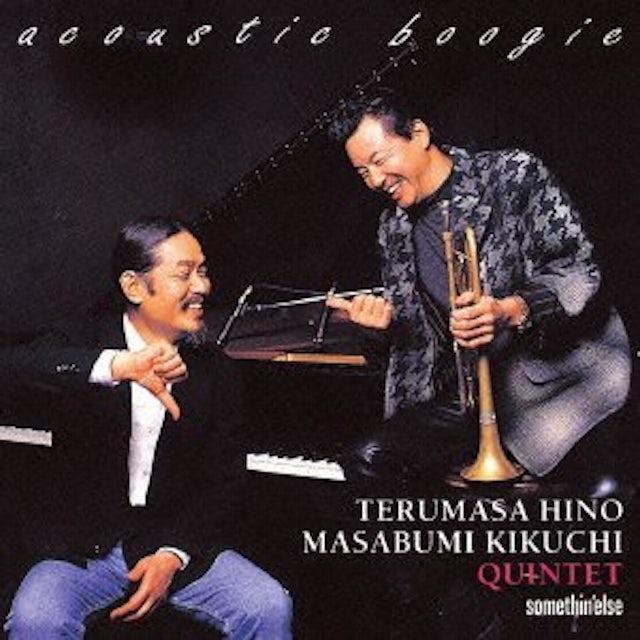 Terumasa Hino ACOUSTIC BOOGIE CD