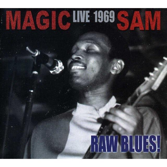 Magic Sam LIVE 1969 RAW BLUES CD