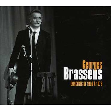 Georges Brassens CONCERTS 1959 / 1976 CD