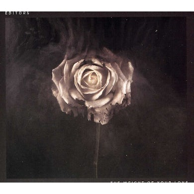 Editors WEIGHT OF YOUR LOVE CD