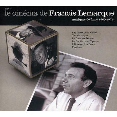 LE CINEMA DE FRANCIS LEMARQUE CD