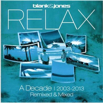 Blank & Jones RELAX: DECADE 2003 - 2013 REMIXED & MIXED CD