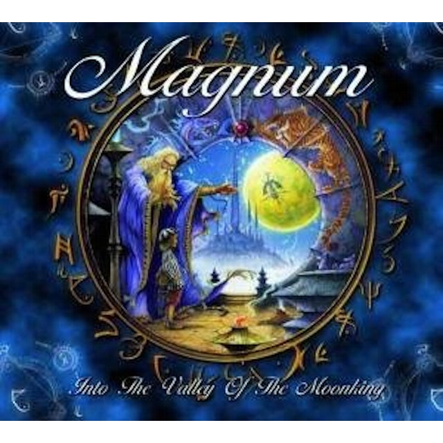 Magnum INTO THE VALLEY OF THE MOON KING CD