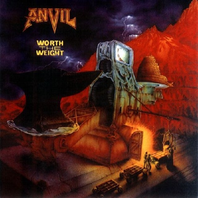 Anvil WORTH THE WEIGHT Vinyl Record