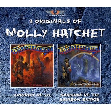 Molly Hatchet KINGDOM OF XII / WARRIORS OF THE RAINBOW BRIDGE CD