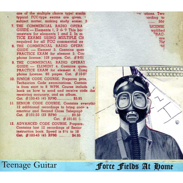 Teenage Guitar FORCE FIELDS AT HOME CD