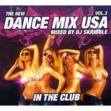 DJ Skribble DANCE MIX USA 3 CD