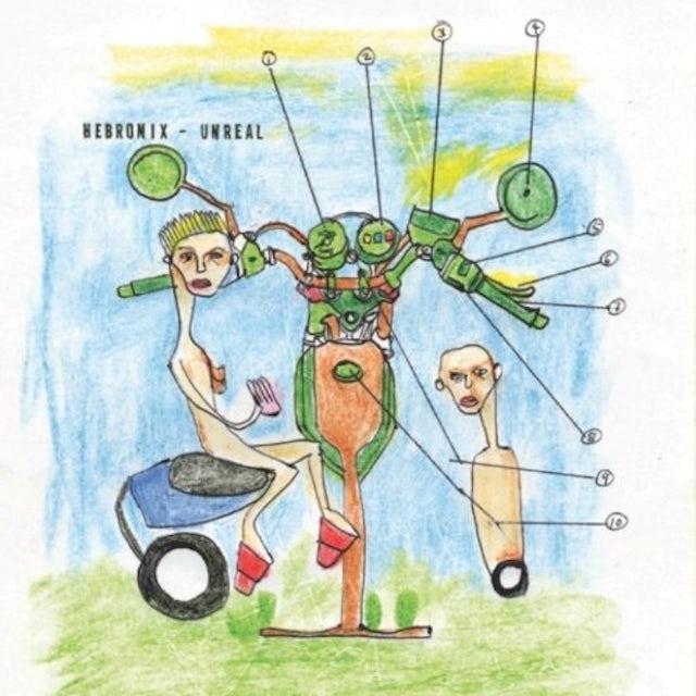 Hebronix UNREAL Vinyl Record