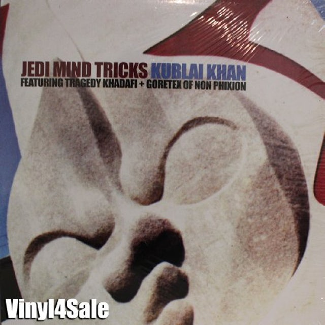 Jedi Mind Tricks KUBLAI KHAN Vinyl Record