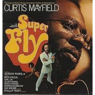 Curtis Mayfield SUPERFLY Vinyl Record - 180 Gram Pressing