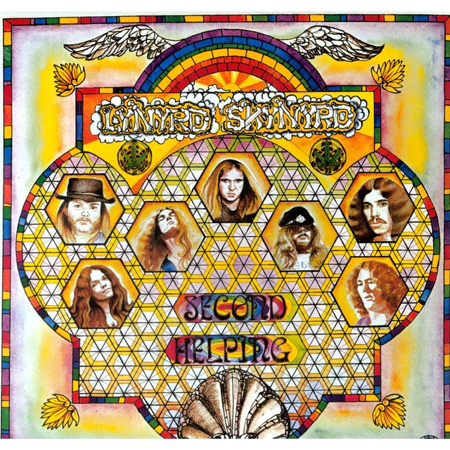 Lynyrd Skynyrd SECOND HELPING Vinyl Record