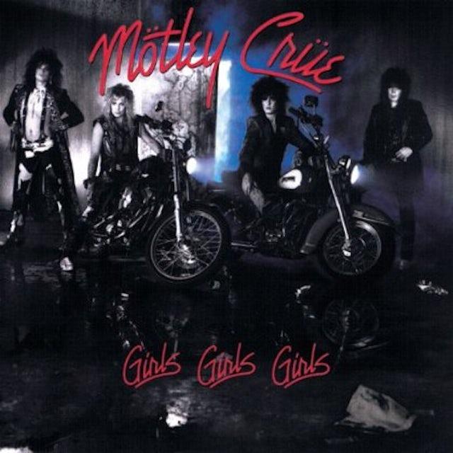 Mötley Crüe GIRLS GIRLS GIRLS Vinyl Record - 180 Gram Pressing
