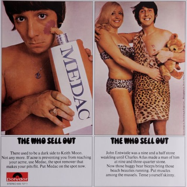 The Who SELL OUT Vinyl Record