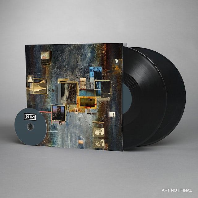 Nine Inch Nails HESITATION MARKS Vinyl Record - w/CD, 180 Gram Pressing