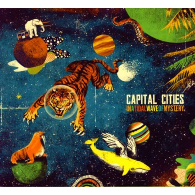 Capital Cities IN A TIDAL WAVE OF MYSTERY CD