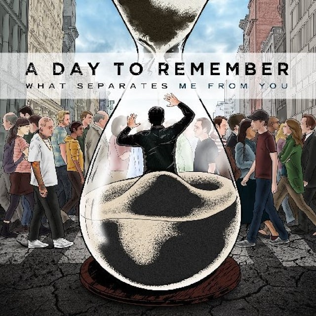 A Day To Remember WHAT SEPARATES ME FROM YOU Vinyl Record