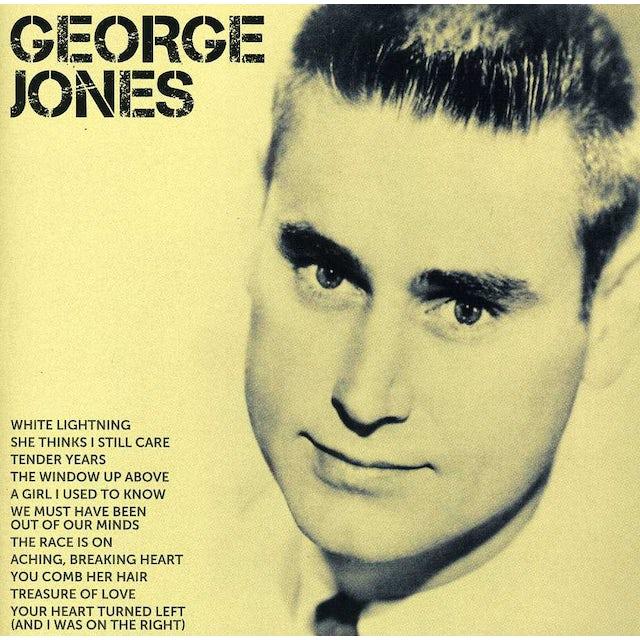 George Jones ICON CD