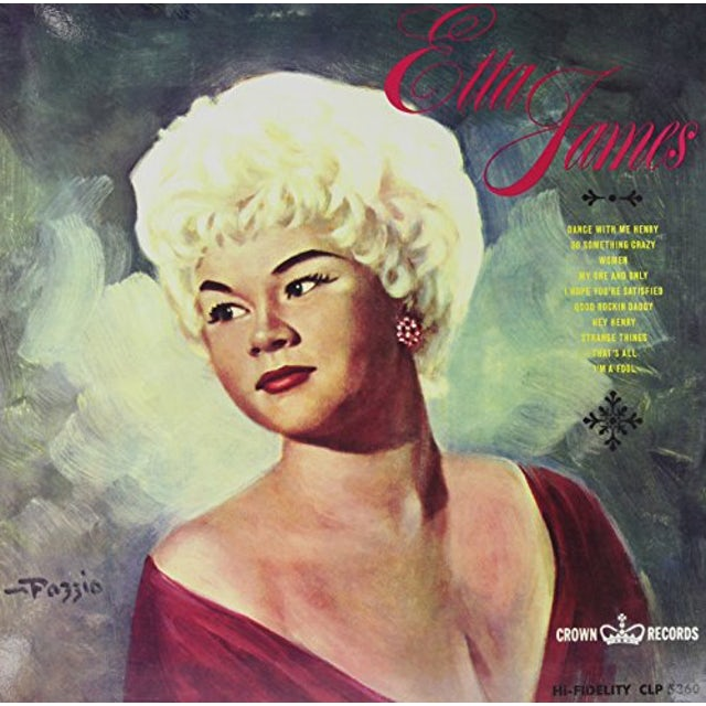Etta James Vinyl Record