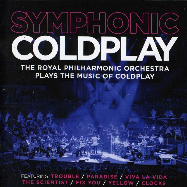 Royal Philharmonic Orchestra SYMPHONIC COLDPLAY CD