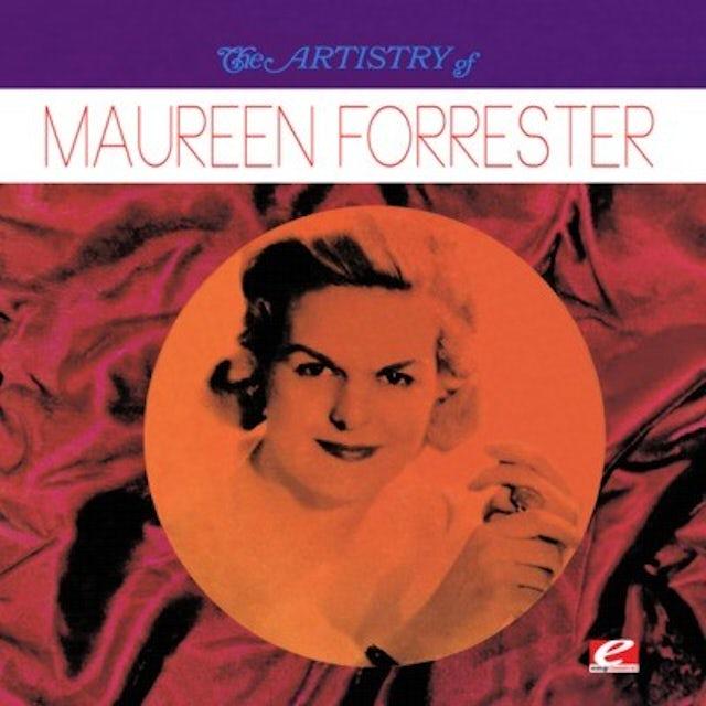 ARTISTRY OF MAUREEN FORRESTER CD
