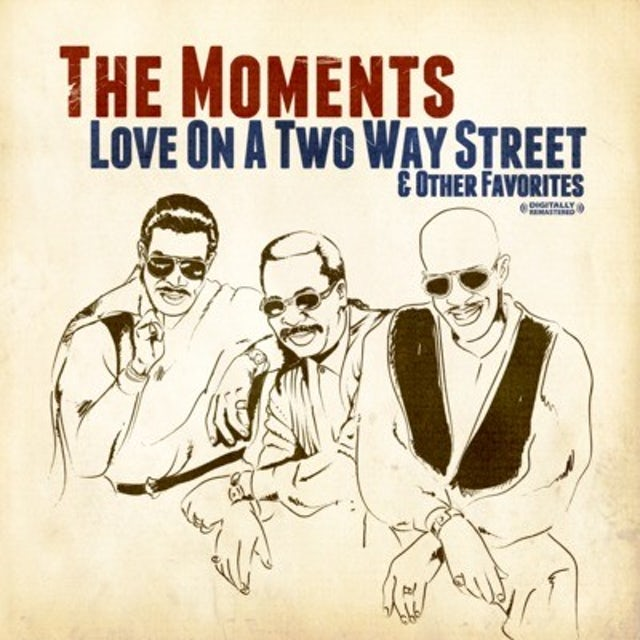 Moments LOVE ON A TWO WAY STREET CD