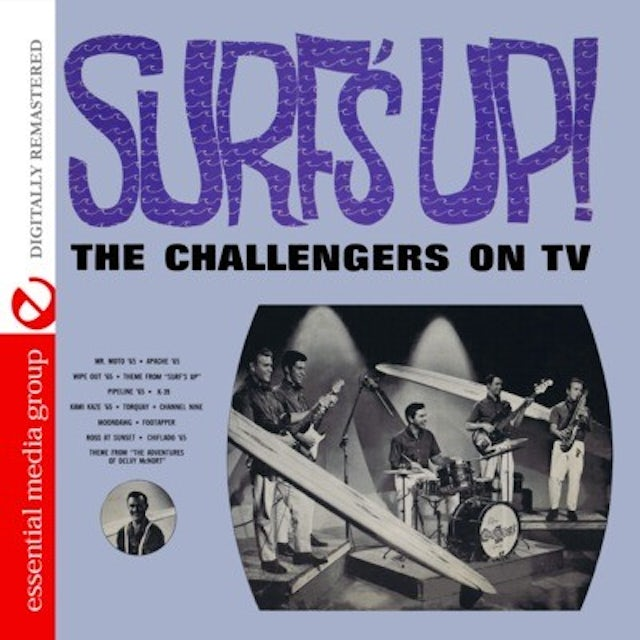 SURF'S UP: CHALLENGERS ON TV CD
