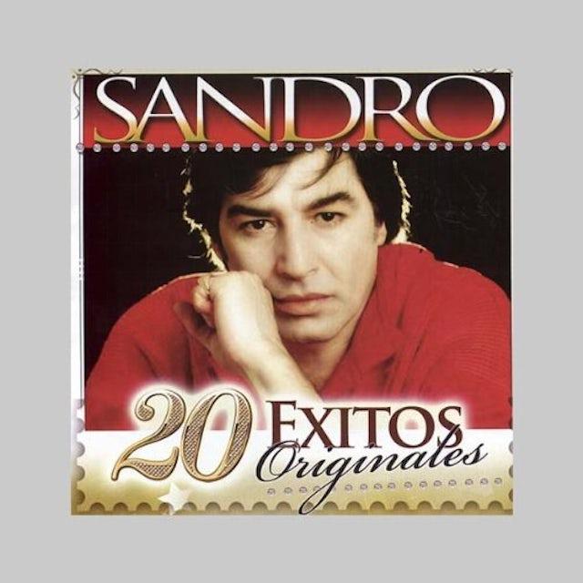 Sandro 20 EXITOS ORIGINALES CD
