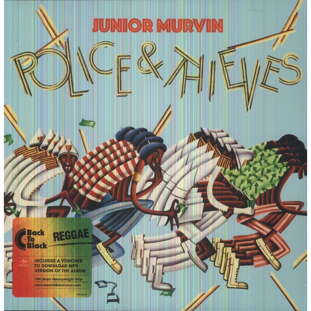 Junior Murvin POLICE & THIEVES Vinyl Record - Holland Release