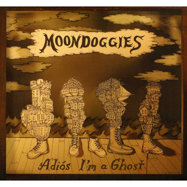 Moondoggies ADIOS I'M A GHOST CD