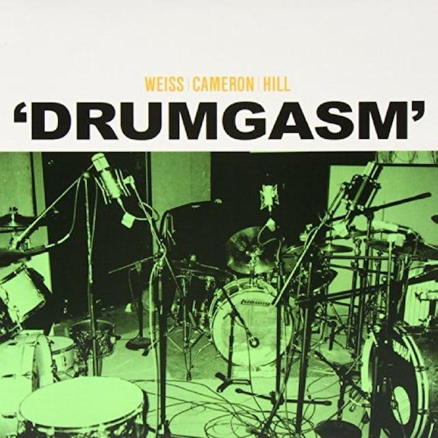 Janet Weiss / Matt Cameron / Zach Hill DRUMGASM Vinyl Record