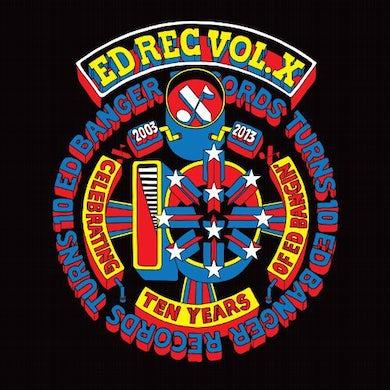 Ed Rec Vol X / Various (Bonus Cd) ED REC VOL X / VARIOUS Vinyl Record