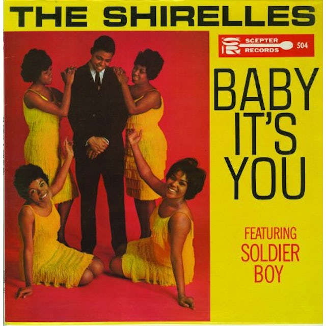 The Shirelles BABY ITS YOU Vinyl Record