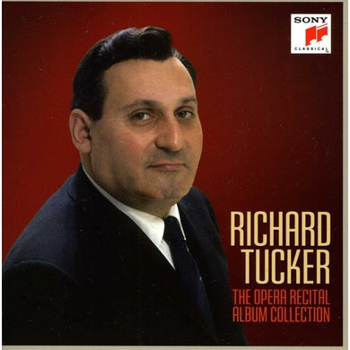 Richard Tucker OPERA RECITAL ALBUM COLLECTION CD