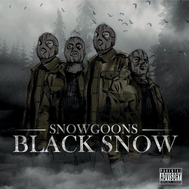 Snowgoons BLACK SNOW Vinyl Record