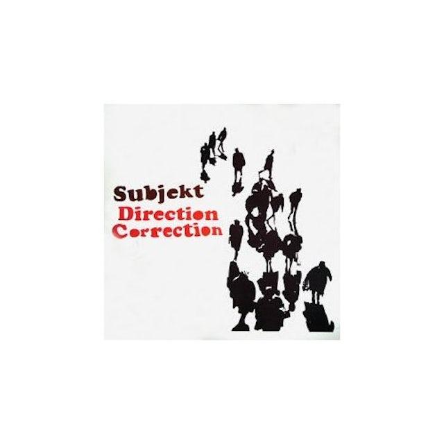 Subjekt DIRECTION CORRECTION Vinyl Record