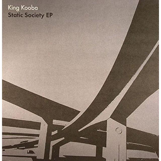 King Kooba STATIC SOCIETY Vinyl Record