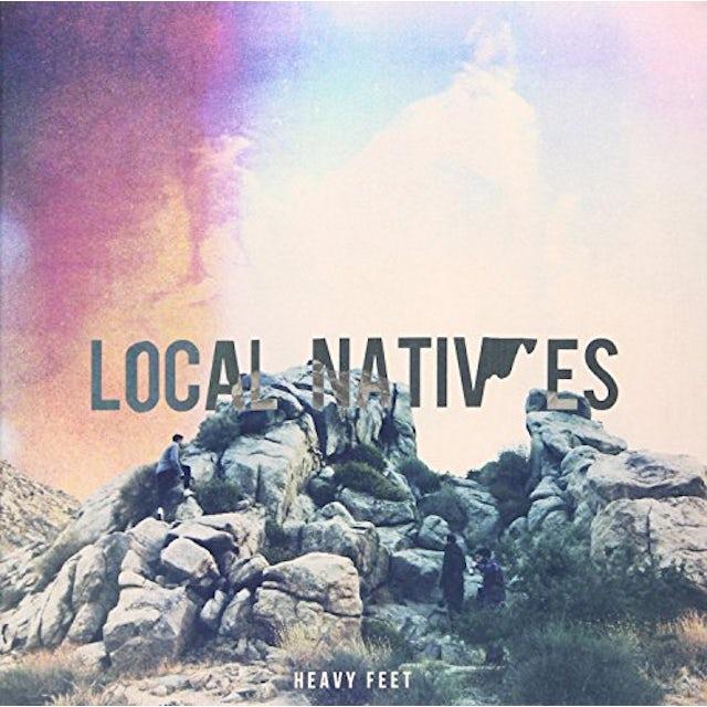 Local Natives HEAVY FEET Vinyl Record