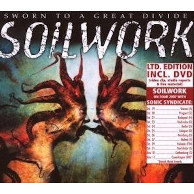 Soilwork SWORN TO A GREAT DIVIDE CD