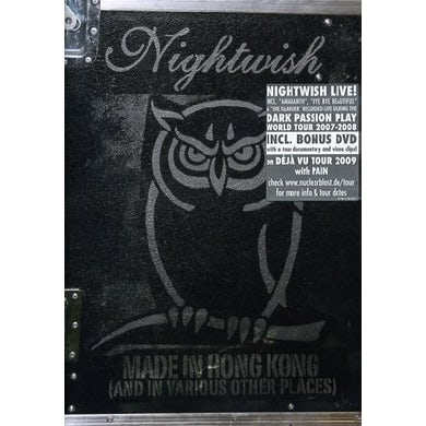 Nightwish MADE IN HONG KONG CD