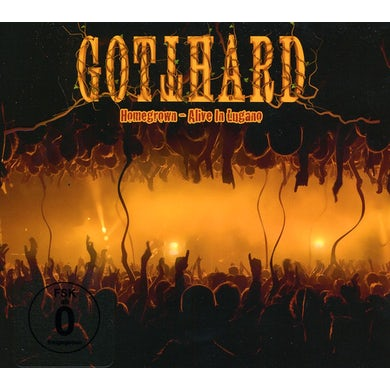 Gotthard HOMEGROWN: ALIVE IN LUGANO CD