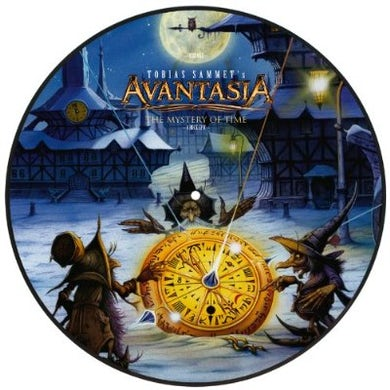 Avantasia MYSTERY OF TIME Vinyl Record - Holland Release
