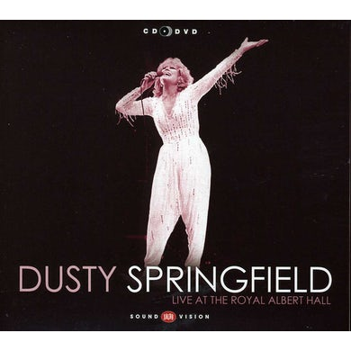 Dusty Springfield LIVE AT THE ALBERT HALL CD