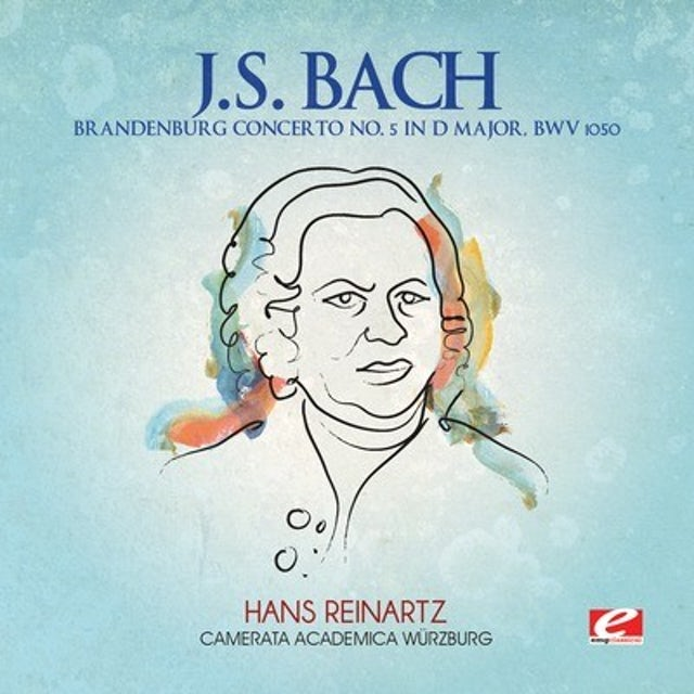 J.S. Bach BRANDENBURG CONCERTO 5 D MAJOR CD