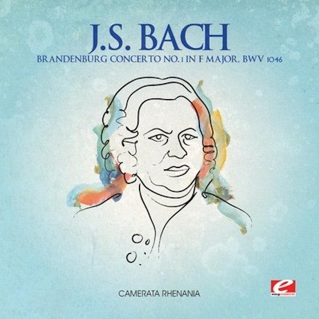 J.S. Bach BRANDENBURG CONCERTO 1 F MAJOR CD