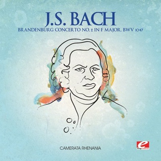 J.S. Bach BRANDENBURG CONCERTO 2 F MAJOR CD