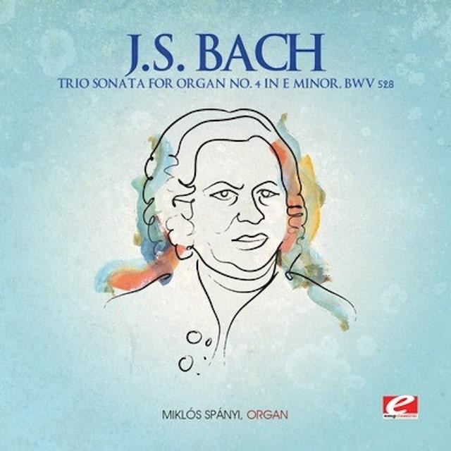 J.S. Bach TRIO SONATA ORGAN 4 E MINOR CD