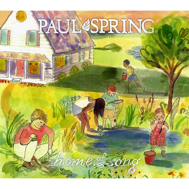 Paul Spring HOME OF SONG CD