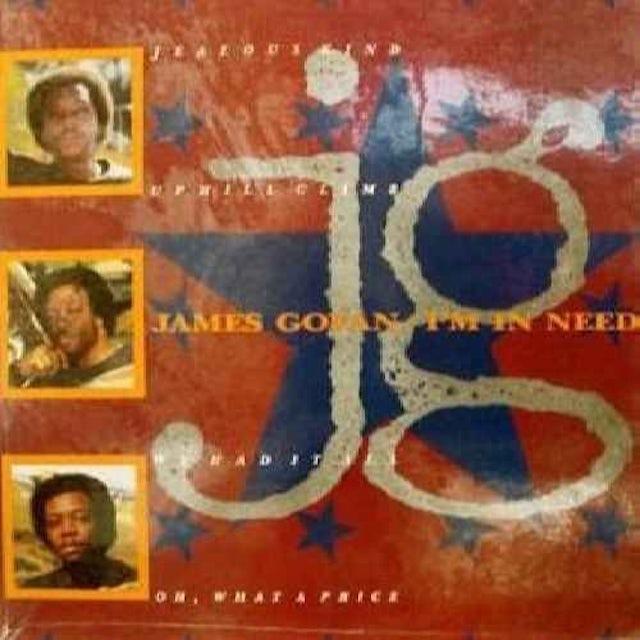 James Govan I'M IN NEED Vinyl Record