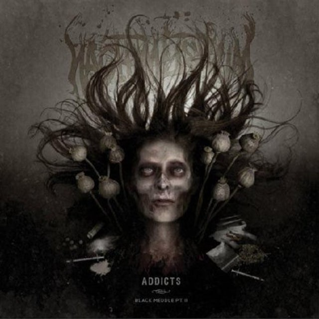 Nachtmystium ADDICTS BLACK MEDDLE PT II Vinyl Record