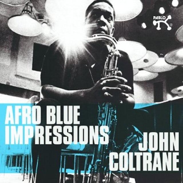 John Coltrane AFRO BLUE IMPRESSIONS CD